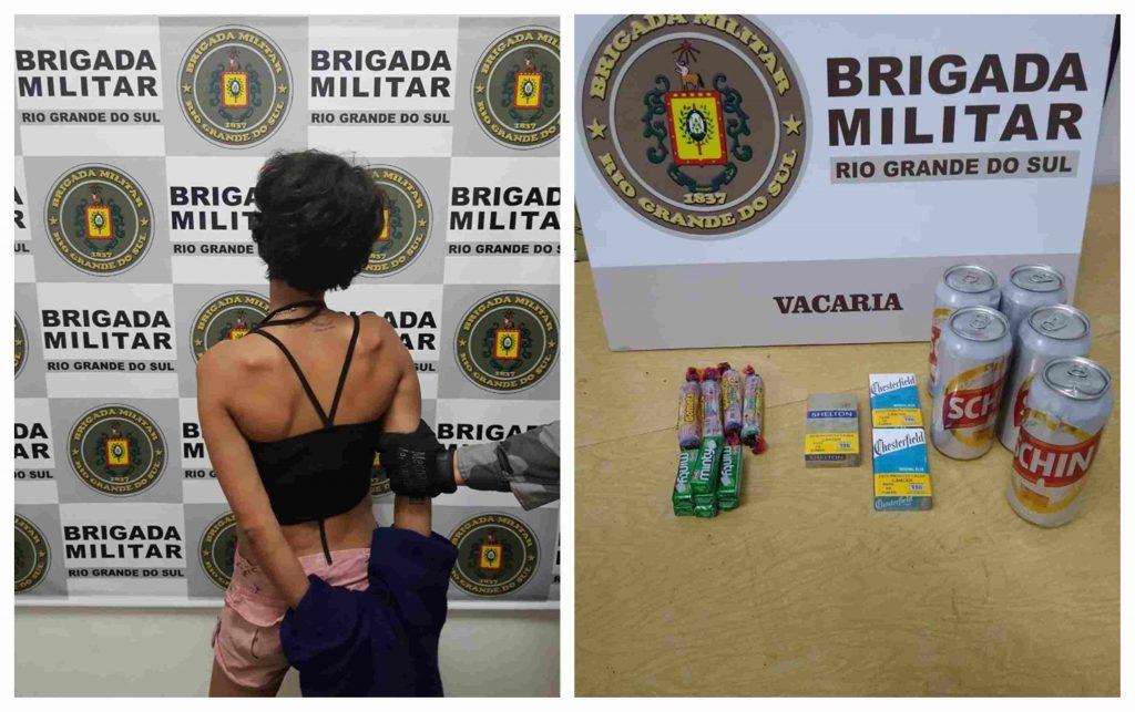 Mulher quebra perna de idoso de 82 anosdurante assalto em Vacaria | Rádio Studio 87.7 FM - Rádio Studio 87.7 FM